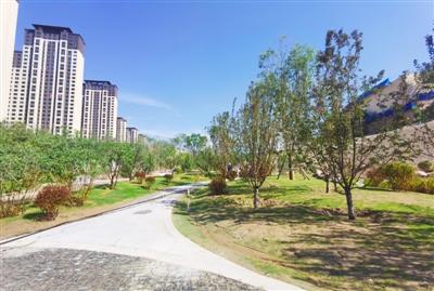 沈那遗址公园西侧将于8月底开放