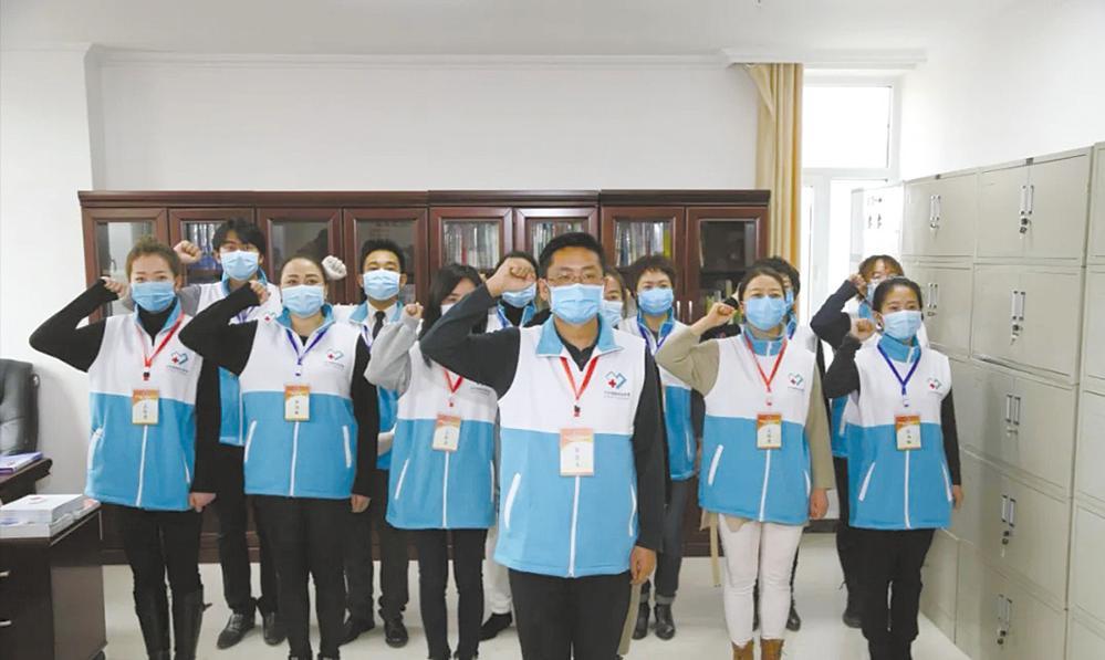 """讓""""陽光""""照進受助者的心里——記青海省紅十字疫情防控心理援助志愿服務隊"""
