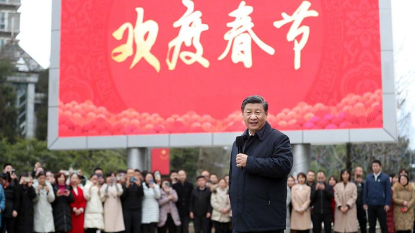 习近平春节前夕赴貴州看望慰问各族干部群众