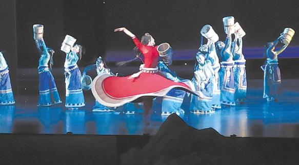 永怀感恩之念 守护江河之源 原创生态舞剧《大河之源》昨晚在西宁首演