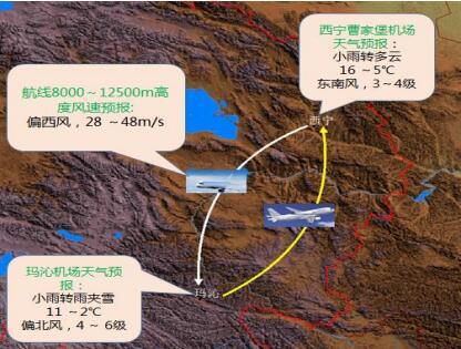 果洛瑪多震區航線專題預報