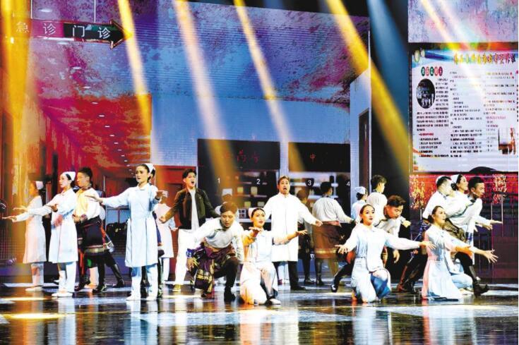 《遇上你是我的缘》在青海大剧院盛装上演