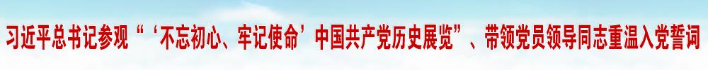 """从党的奋斗历史中汲取前进力量——习近平总书记参观""""'不忘初心、牢记使命'中国共产党历史展览""""、带领党员领导同志重温入党誓词侧记"""