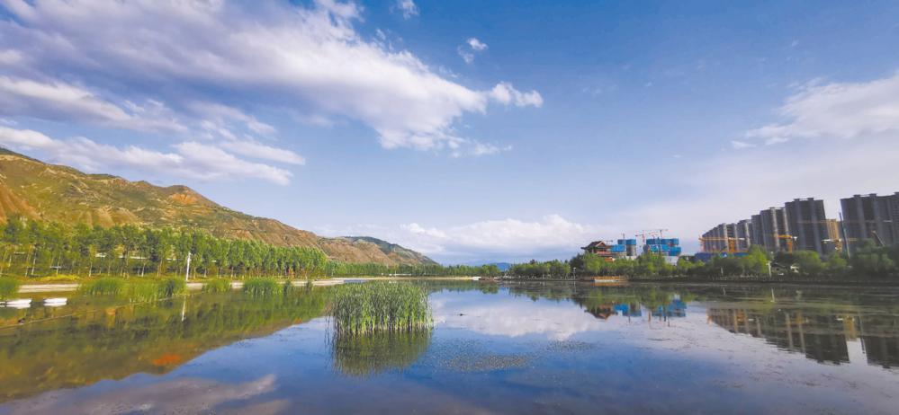 西宁市水生态环境越来越好